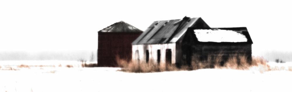 4 Farm Buildings - Guy, Alberta 3