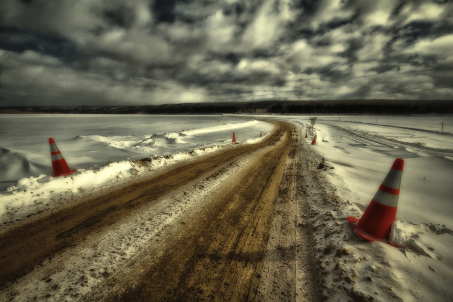 Ice Bridge, Tompkins Landing, Alberta 2