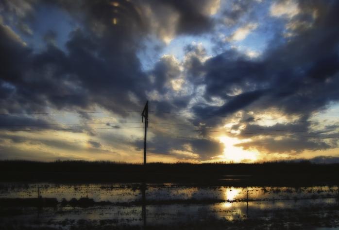 Sunset Thaw - High Level, Alberta