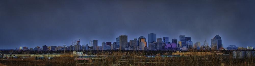 City of Edmonton Skyline
