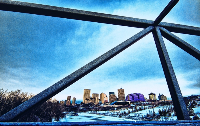 Edmonton - from the River Valley