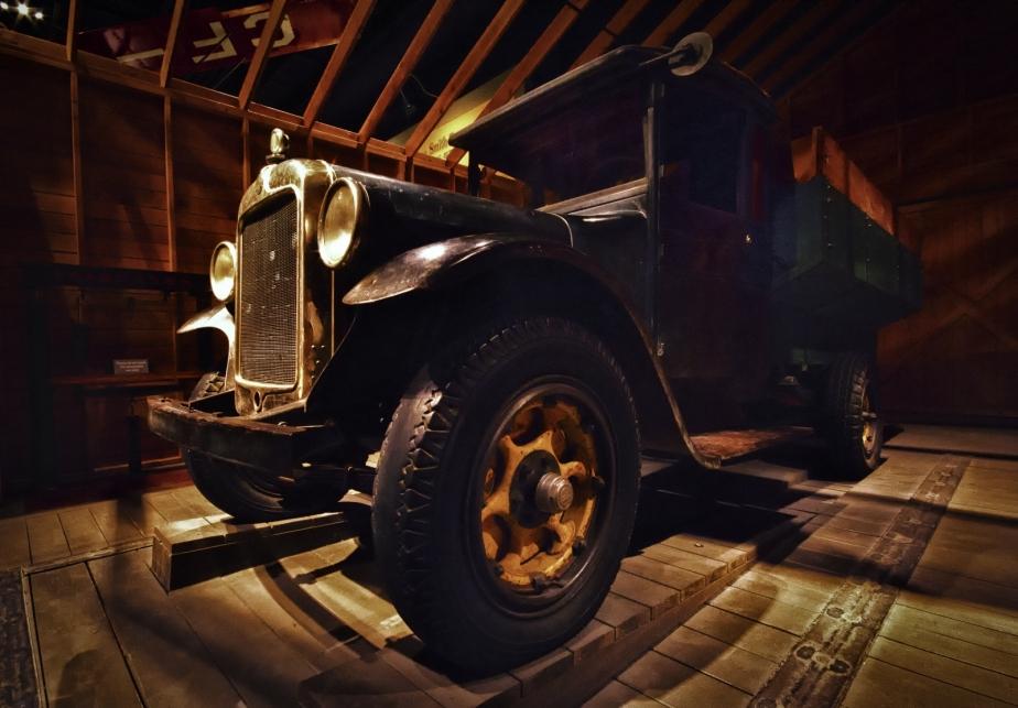 Graham Farm Truck - Reynolds Museum - Wetaskiwin, Alberta