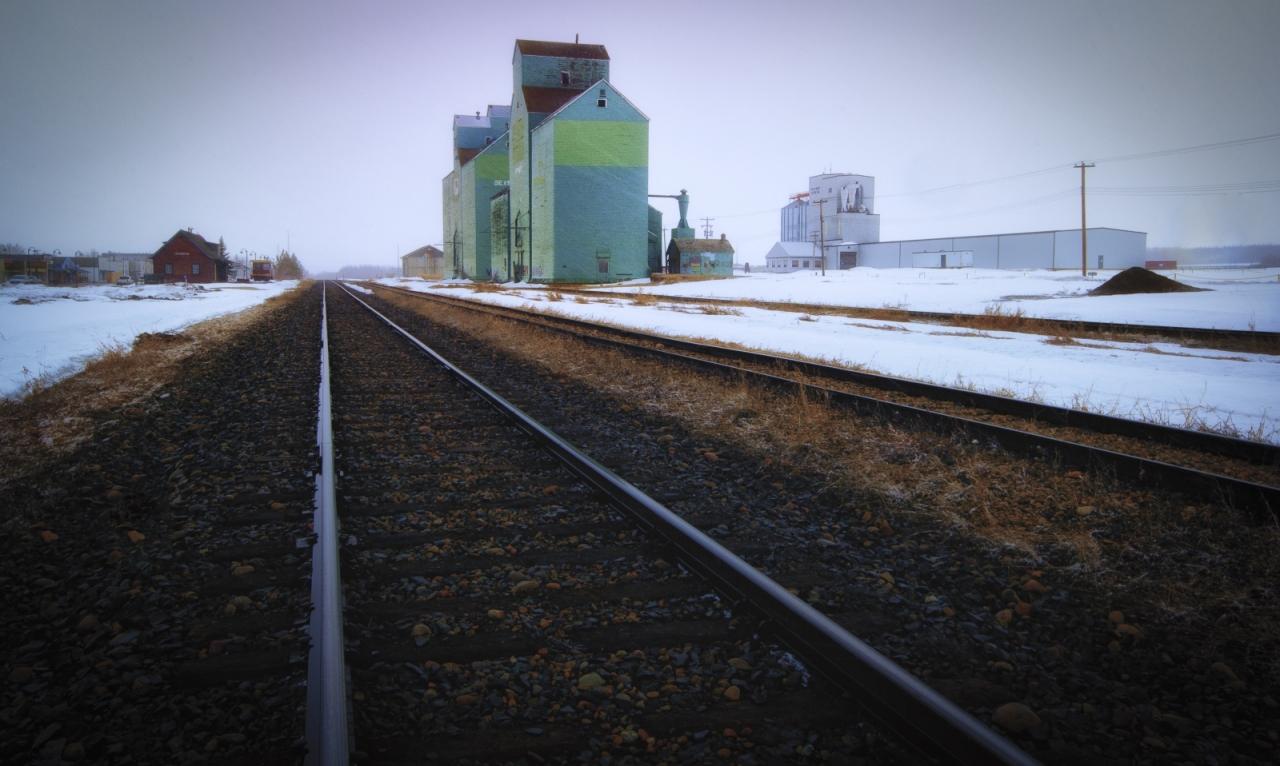 Grain Elevator - Sexsmith, Alberta 2