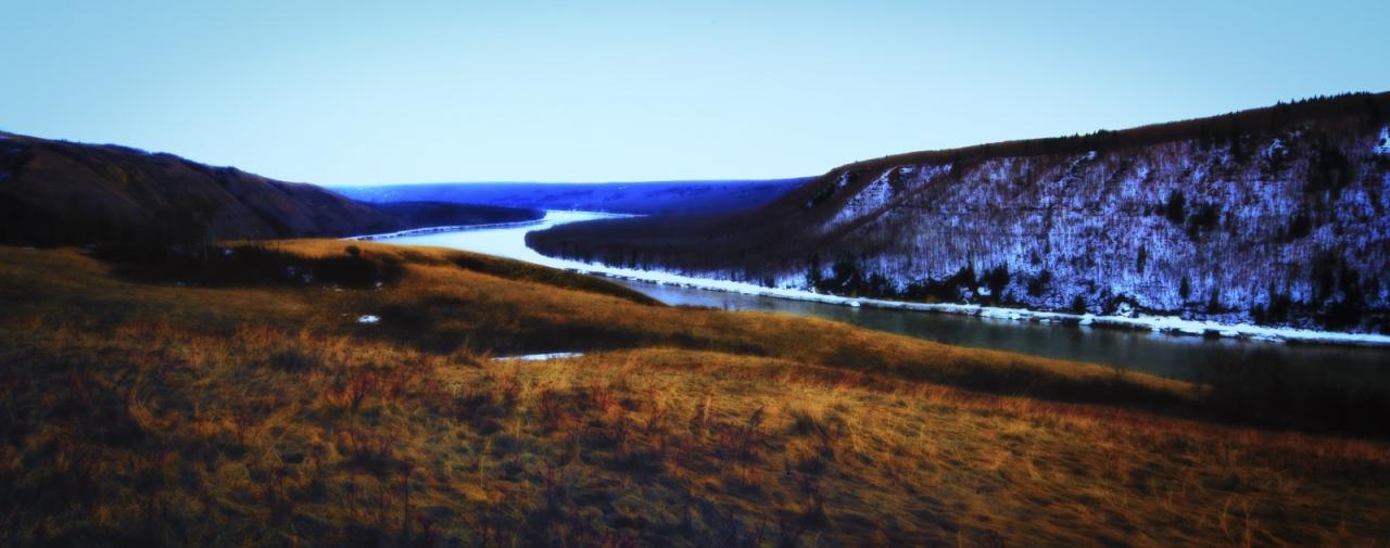 Peace River - Dunvegan, Alberta 1