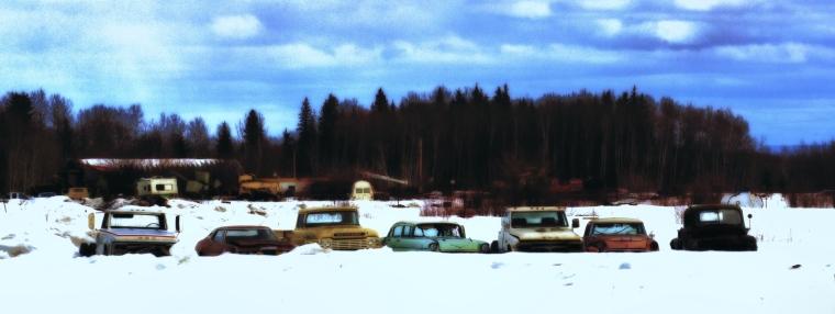 Rusting Relics - Manning, Alberta