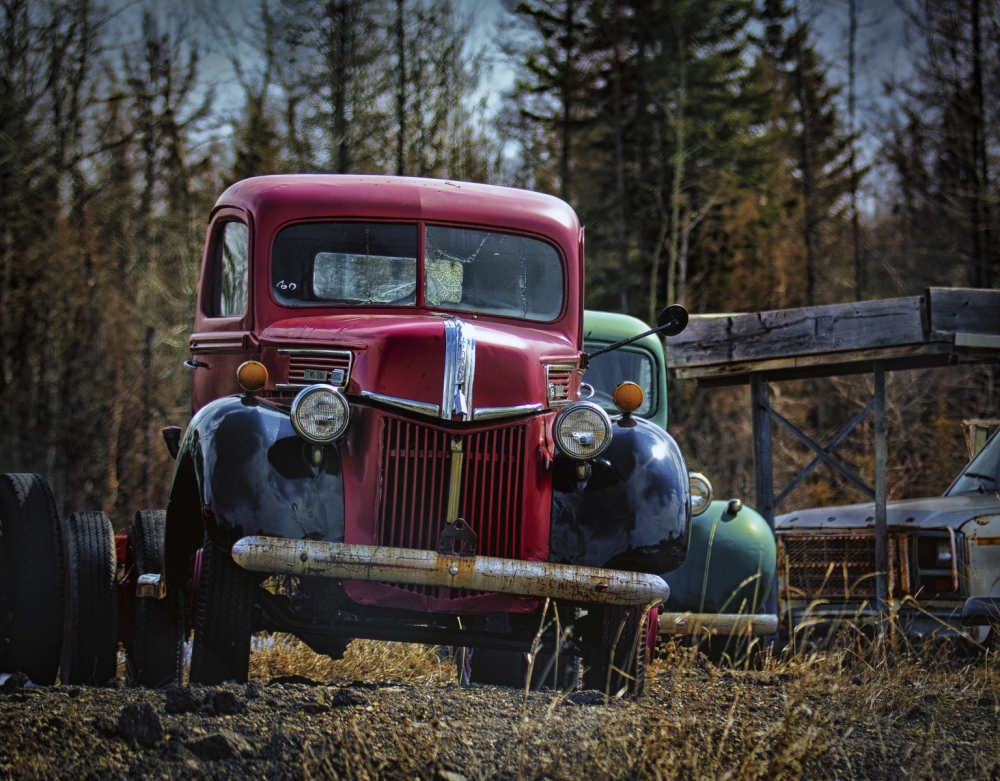 1938 Ford Two Ton Cab and Chassis - Sangudo, Alberta