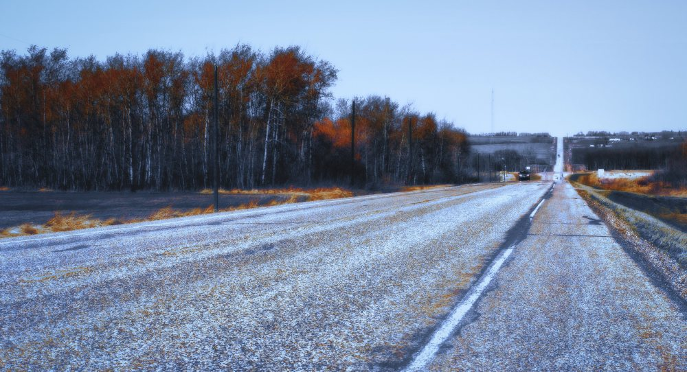 Along the Road - Woking, Alberta