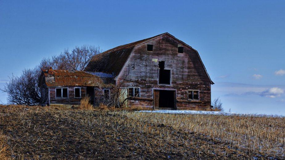 Barn - Fort Saskatchewan, Alberta 1