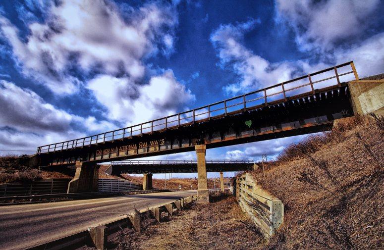 Canadian National Bridge - Edmonton, Alberta