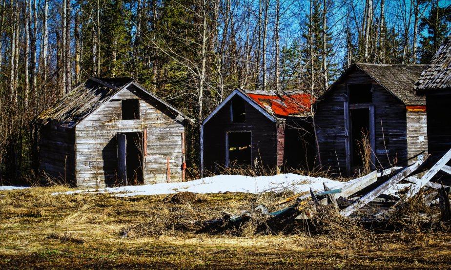 Grain Shed - Manning, Alberta 3