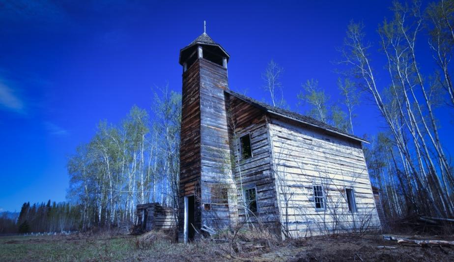 Roman Catholic Church - Buttertown, Alberta