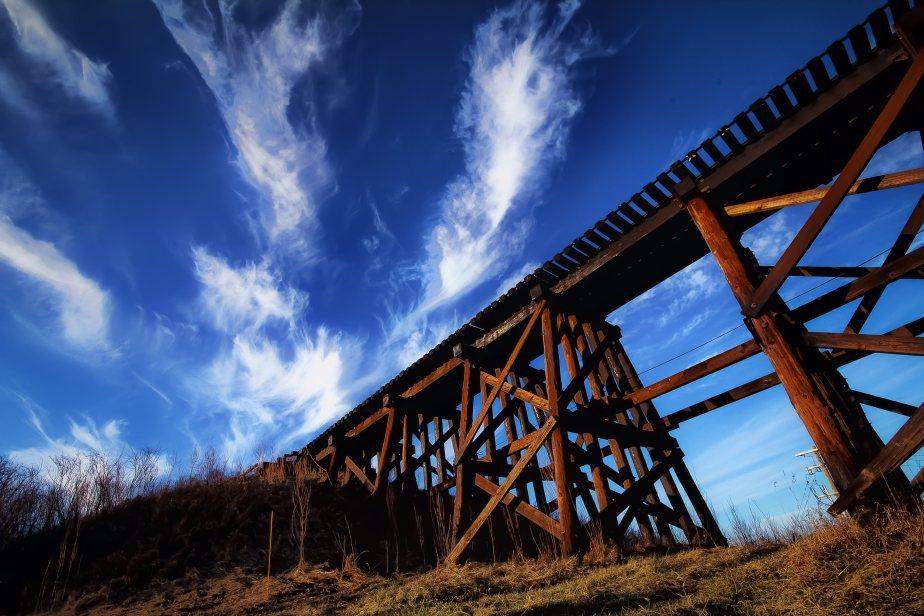 Train Trestle - Sangudo, Alberta