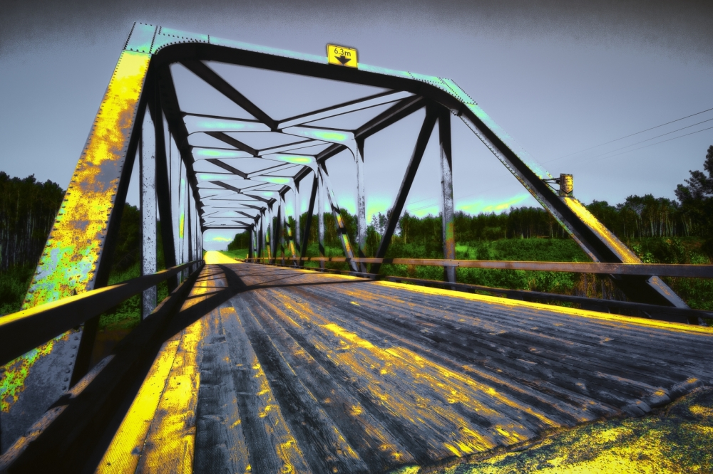 Boyer River Bridge - Fort Vermilion, Alberta 2
