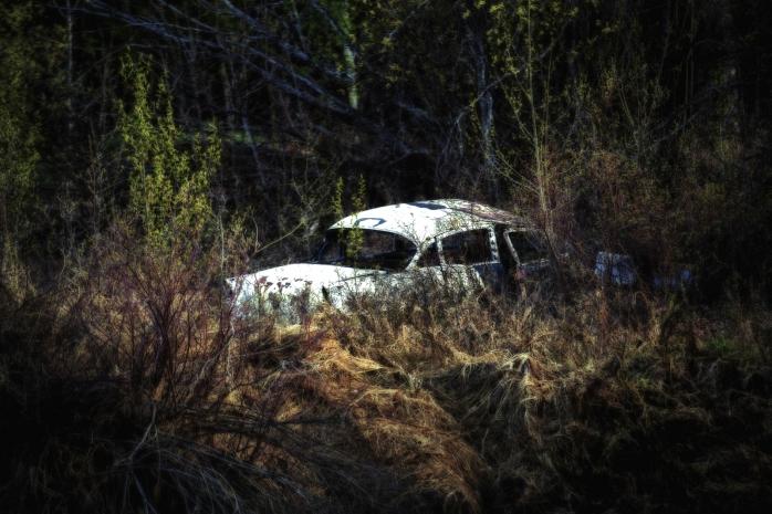 Derelict Vehicle - A Former Time - Buttertown, Fort Vermilion, Alberta