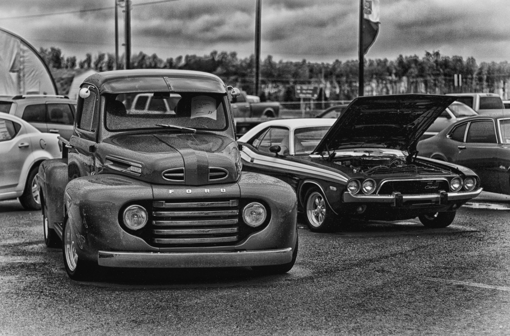Ford & Challenger - High Level, Alberta 1