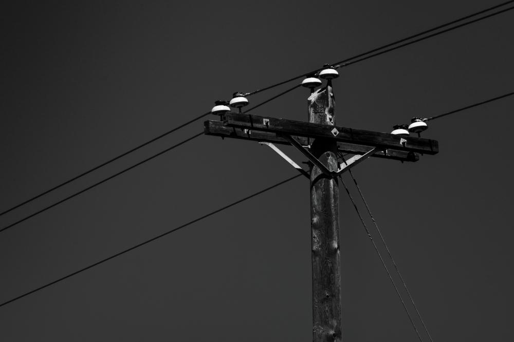Power Pole - Fort Vermilion, Alberta 1