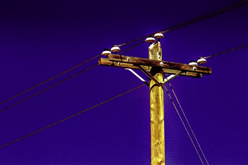 Power Pole - Fort Vermilion, Alberta 2