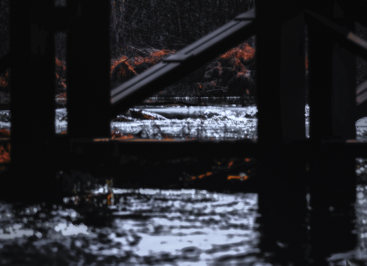 Train Trestle - Lac St. Anne, Alberta 1