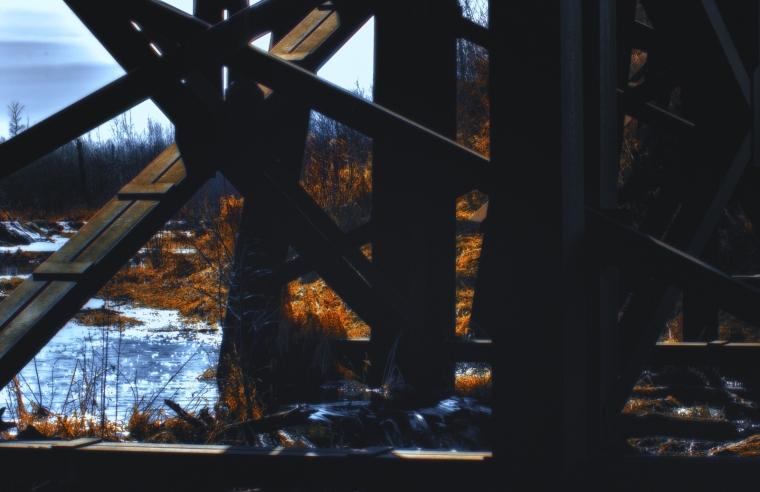 Train Trestle - Lac St. Anne, Alberta 3