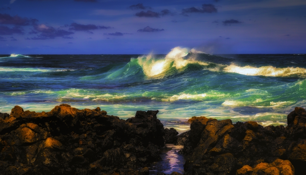 10 Waves - Sandy Beach, Oahu