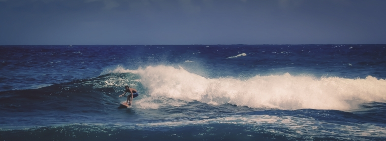 11 Surfer - Sandy Beach, Oahu
