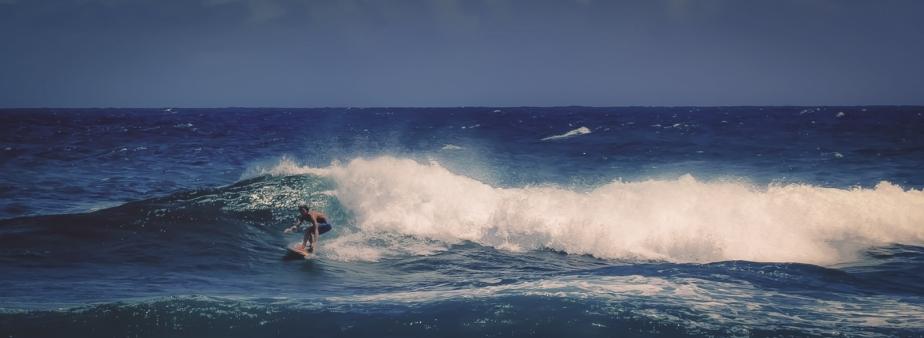 11 Surfer - Sandy Beach, Oahu