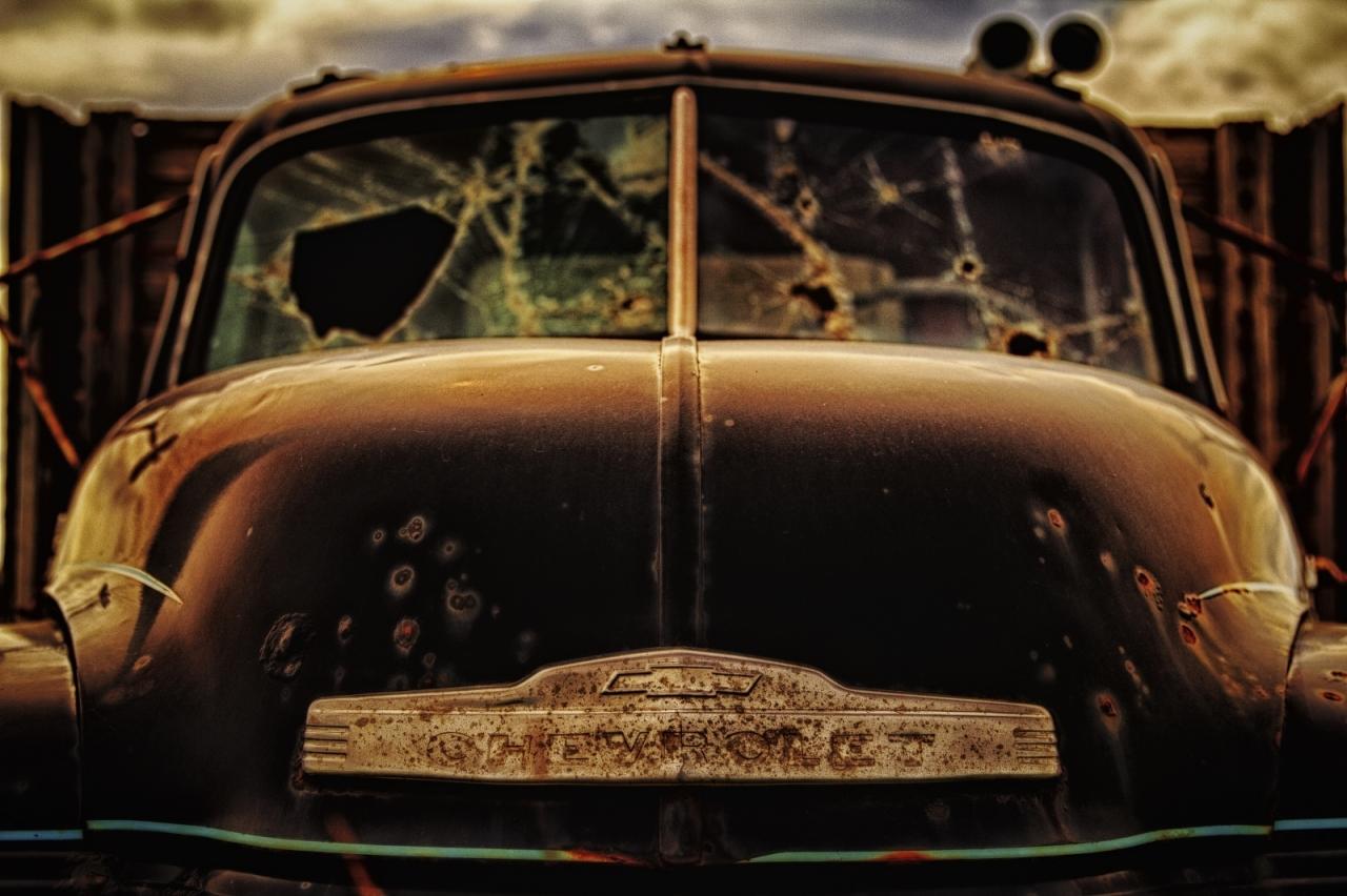 1949 Chevrolet Grain Truck - Donnelly, Alberta 4
