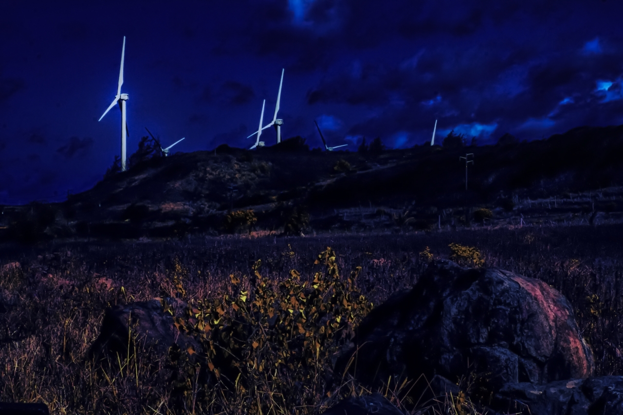 3 Wind Turbines - North Shore, Oahu 3