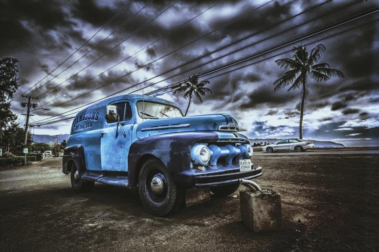 9 52 Ford Panel Van - Haleiwa, Oahu