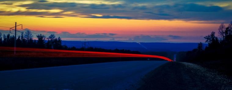 Along Northern Roads - Grande Cache, Alberta