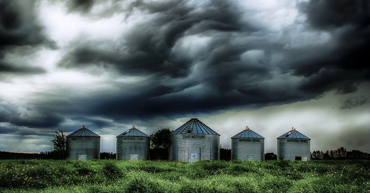 Grain Bins - Dixonville, Alberta 1