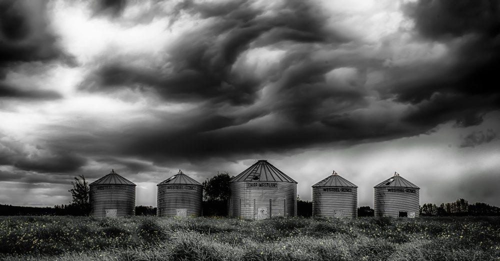 Grain Bins - Dixonville, Alberta 2