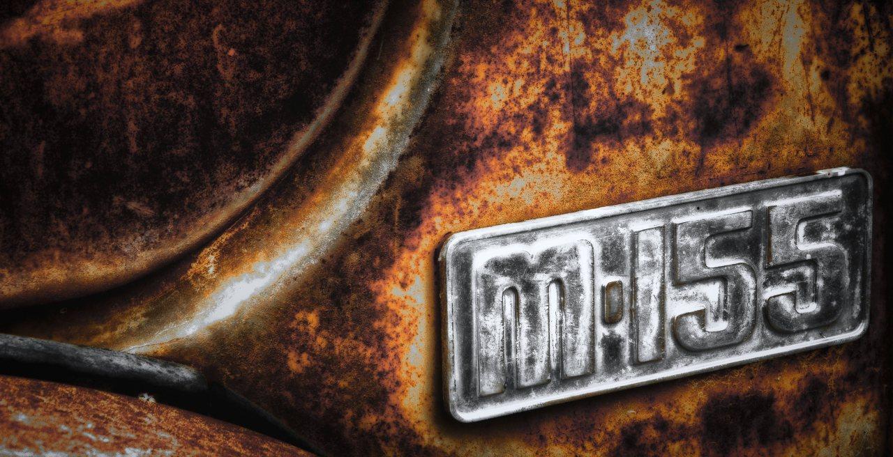 Mercury Grain Truck Badge - Manning, Alberta 1