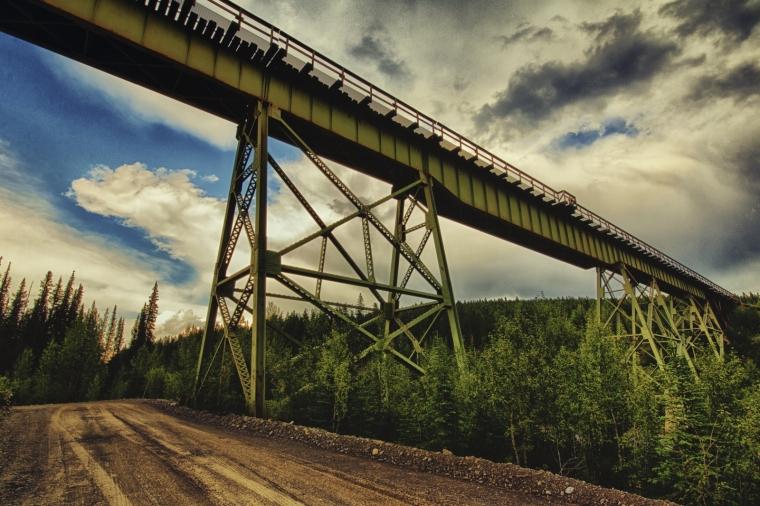 Trestle Bridge - Grande Cache, Alberta