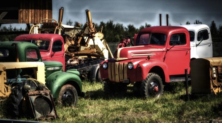 1947 Ford  4 x 4 - Sangudo, Alberta 1
