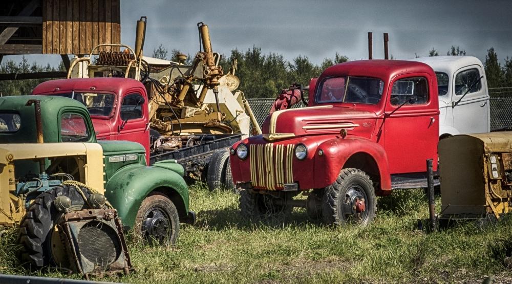 1947 Ford  4 x 4 - Sangudo, Alberta 2