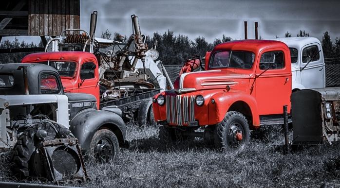 1947 Ford  4 x 4 - Sangudo, Alberta 3