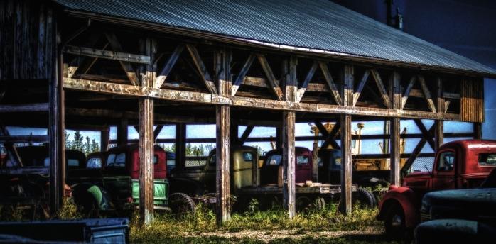 Open-Air Shed - Sangudo, Alberta