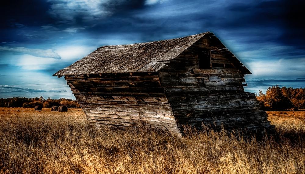2 Leaning Grain Bin - Dixonville, Alberta 1