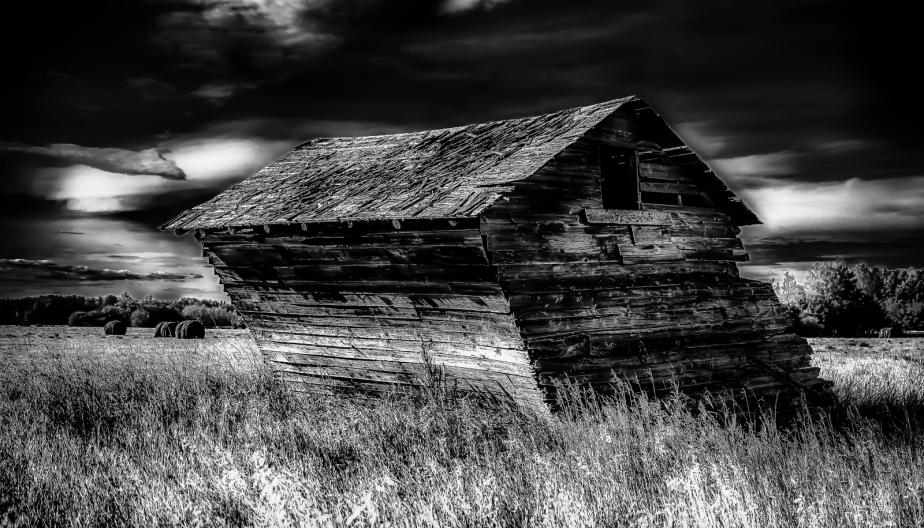 3 Leaning Grain Bin - Dixonville, Alberta 2