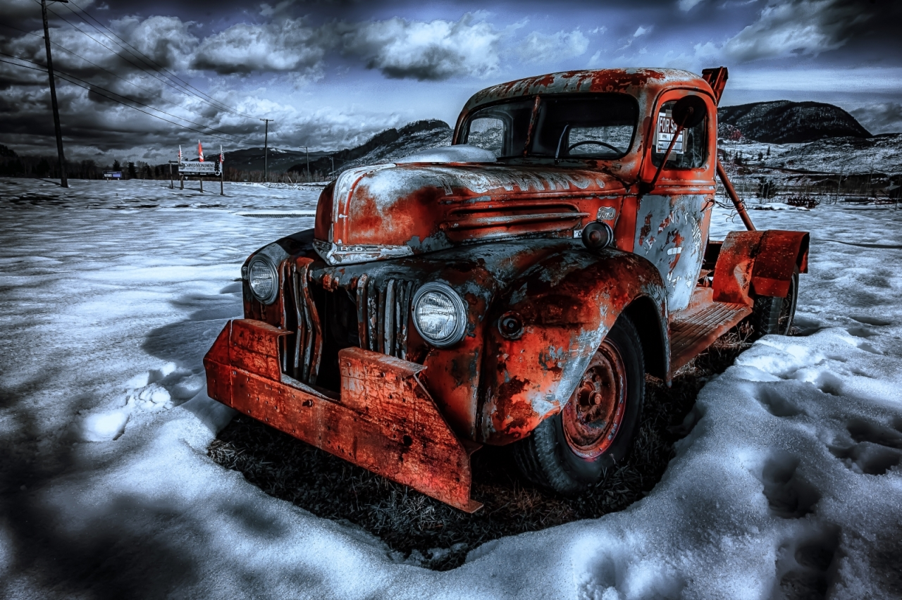 47 Ford Tow Truck - McLure, BC