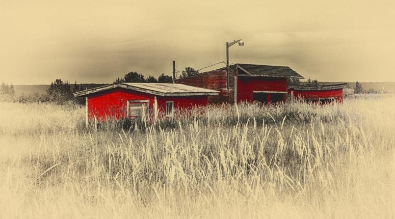 Farm Buildings - Valleyview, Alberta 1
