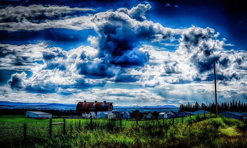 Farm HDR, Greencourt, Alberta