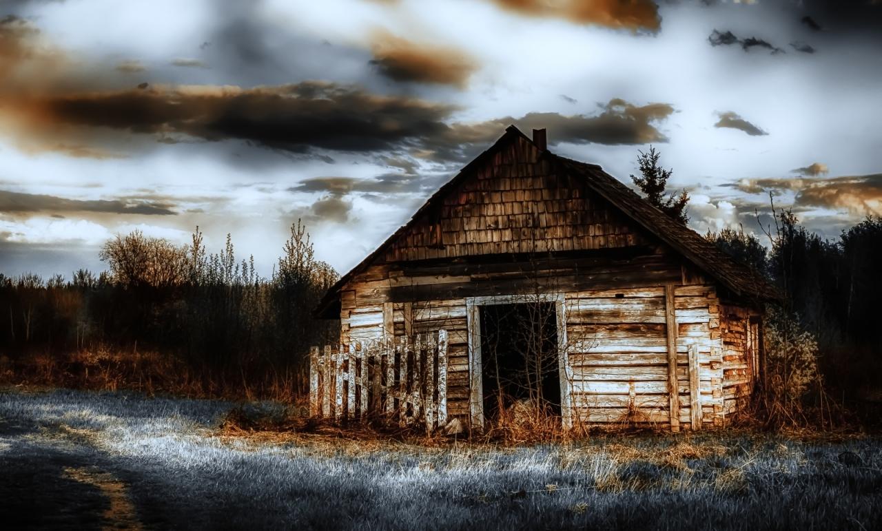Storehouse, St. Louis Mission - Buttertown, Fort Vermilion, Ab 1