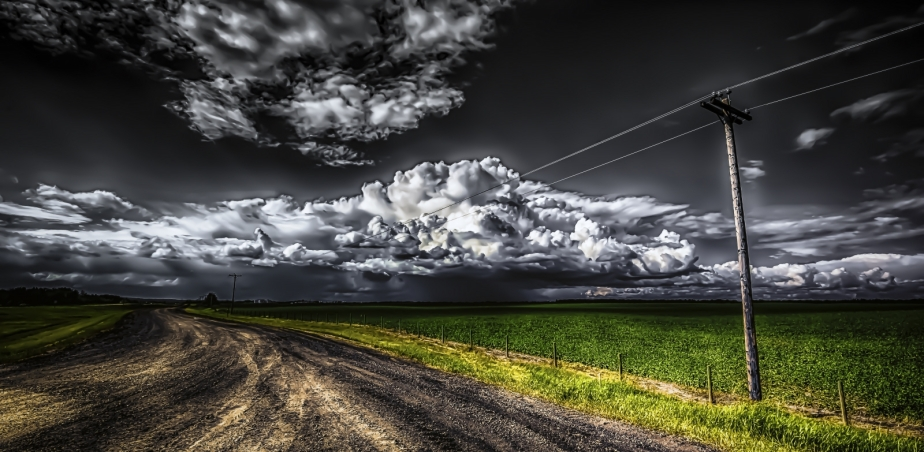 Summer Cloudwork - Greencourt, Alberta