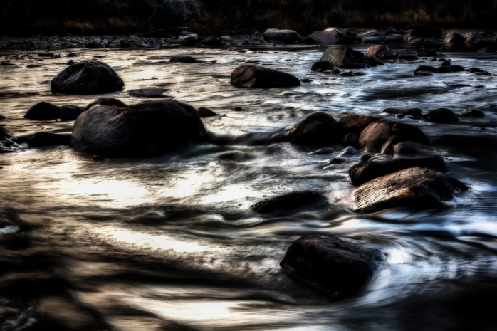 Along the Meikle River - Manning, Alberta 1