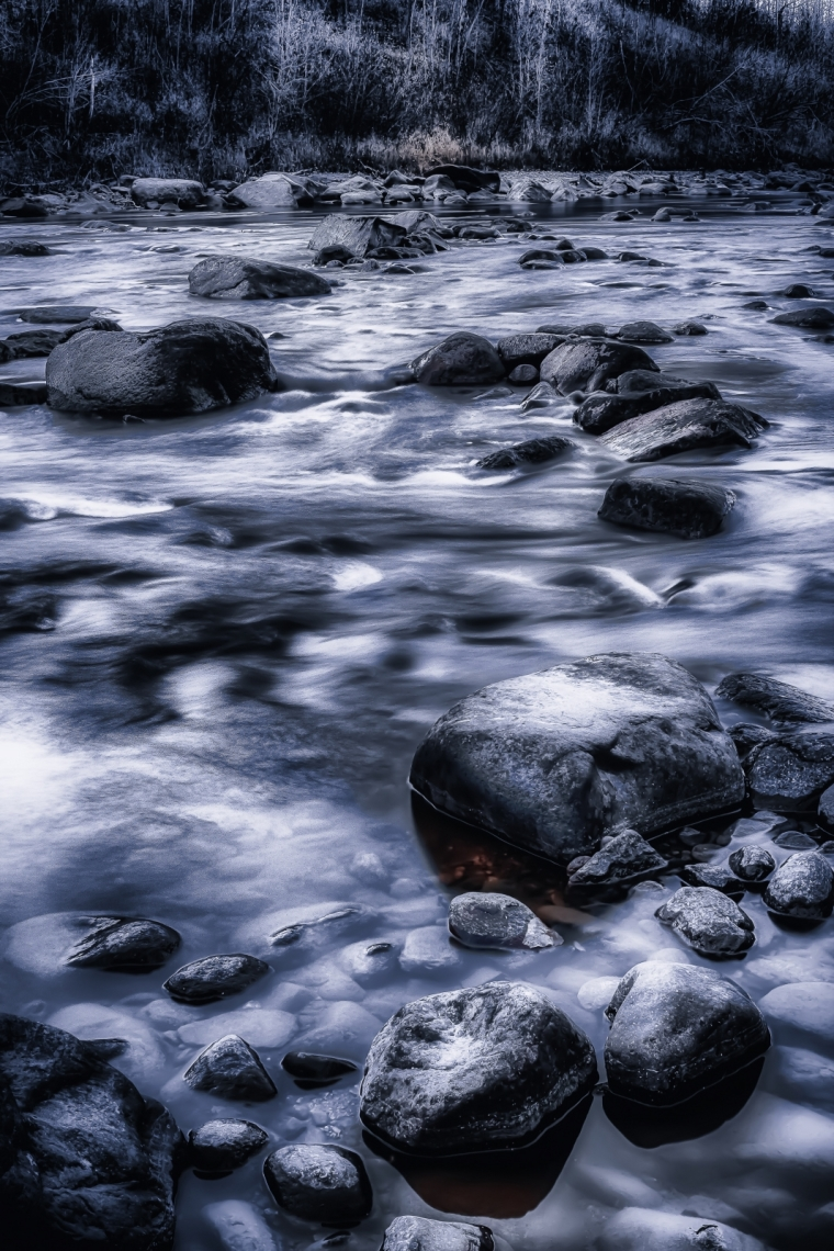 Along the Meikle River - Manning, Alberta 3