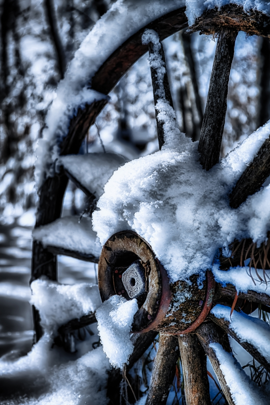 Wagon Wheel - McNaught Homestead, Beaverlodge, Alberta 5