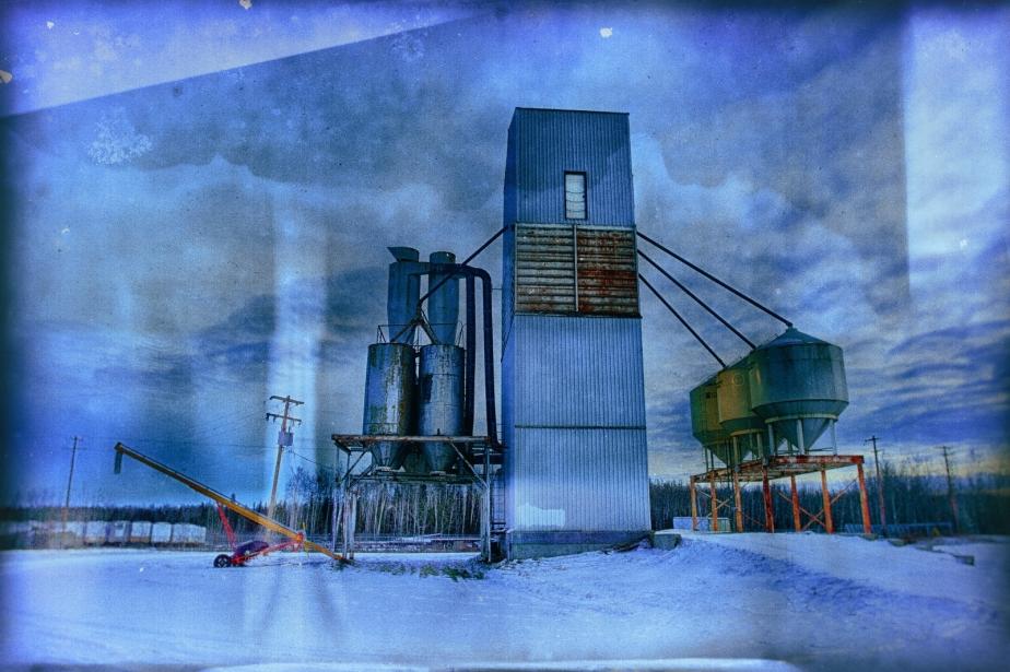 Grain Drying Operation - High Level, Alberta