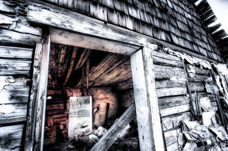 Storehouse - St Louis Catholic Mission - Buttertown, Alberta 2
